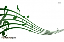 Music Notes Symbol Silhouette