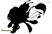 My Little Pony Fire Queen Silhouette Drawing