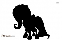 Cute Smurf Silhouette Picture