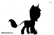 My Little Pony Vector Silhouette Image