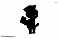 My Talking Tom Silhouette Icon