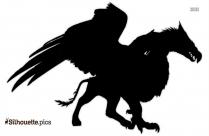 Mythological Creature Silhouette