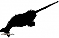 Cartoon Angelfish Image Silhouette