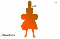 Naruto Uzumaki Silhouette