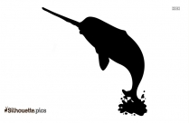 Narwhal Symbol Silhouette