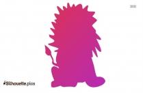 King Simba Lion Clip Art Silhouette