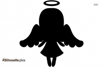 Nativity Angel Silhouette Image And Vector