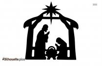 Nativity Silhouette Free Clip Art