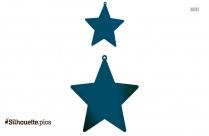 Nativity Star Silhouette Icon