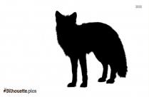 Nature Animal Fox Silhouette Art