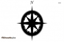 Cartoon Astrolabe Silhouette Image And Vector