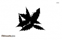 Neem Leaves Silhouette Image And Vector