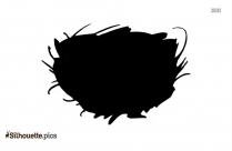 Nest Vector Silhouette Picture