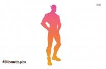 New 52 Flash Superhero Silhouette Clipart