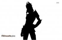 Fortnite Halloween Skins Silhouette Clipart Image