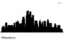 Newyork Cityscape Silhouette