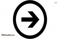 Next Symbol Silhouette Free Vector Art