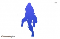 Nick Fury Character Silhouette Vector And Graphics Illustration