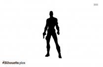 Nick Fury Silhouette Art