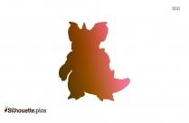 Yoshi Cartoon Character Silhouette, Clip Art