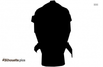 Ninja Face Mask Silhouette Clip Art