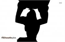 Ninja Kong Symbol Silhouette