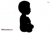 Kalia Cartoon Character Silhouette