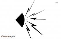 Noise Symbol Silhouette Free Vector Art