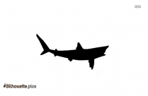 Cartoon Salmon Silhouette Clip Art