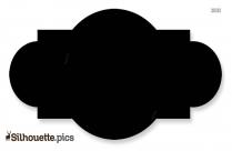 Octagon Shape Frame Silhouette