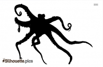 Octopus Silhouette Clipart