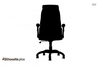 Office Chair Silhouette Image