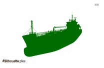 Cruise Ship Silhouette Drawing