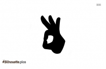 Cartoon Hand Pointing Image