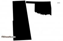 Oklahoma State Image Silhouette