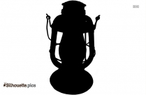 Old Antique Lanterns Clipart || Ancient Lamp Silhouette