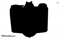 Old Camera Silhouette Icon Free Download