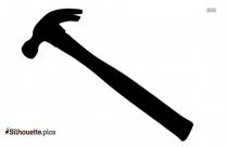 Sledge Hammer Silhouette Image