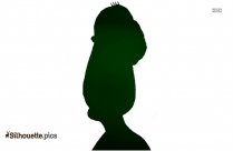Old Person Clipart Silhouette