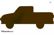 Old Truck Silhouette Vector And Graphics