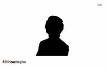 Woman In Free Hair Silhouette