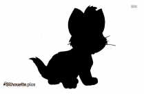 Oliver The Cat Silhouette Vector And Graphics