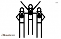 Olympics Acceptio Clip Art Silhouette
