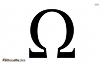 Ancient Vampire Symbol Vector Silhouette