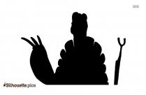 Oogway Kung Fu Panda Silhouette