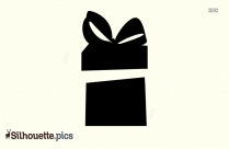 Open Gift Silhouette