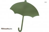 Umbrella Silhouette Background