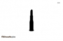 Opened Lipstick Silhouette