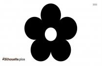 Sunflower Flower Clip Art Silhouette Printable