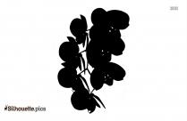 Hydrangea Clipart || Flower Tattoo Silhouette